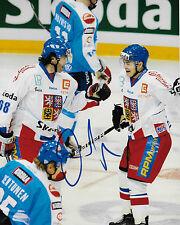 Jaromir Jagr Signed Czech Republic 8X10 Photo