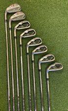 New listing Used LH TaylorMade RocketBallz Iron Set 4-P,A Regular Flex Steel Shafts