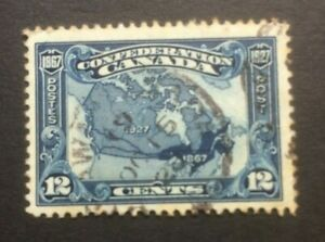 CANADA 1927 60th ANNIV OF CONFEDERATION SG270 USED - SOME TONING