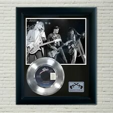 """Cheap Trick """"Dont Be Cruel"""" Framed 45 Silver Record Display"""