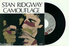 STAN RIDGWAY 'Camouflage' 1985 Vinyl Single