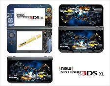 HAUT STICKER AUFKLEBER - NINTENDO NEU 3DS XL - REF 118 TRANSFORMERS