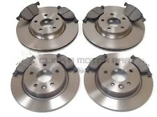 FOR VOLVO S40 2.0D 2.0 D3 2.0 D4 2.4 2.5 T5 2004--/>ON FRONT DISCS PADS SET KIT