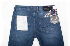 Jacob Cohen Jeans 688 C dunkelblau 38/34 handmade neu
