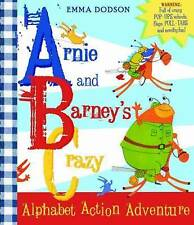 Arnie and Barney's Crazy Alphabet Action Adventure, New,  Book