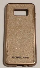 abba96437c00 Michael Kors Saffiano Leather Case for Samsung Galaxy S8 (ONLY) - Rose gold