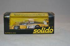 Solido 87 Renault Alpine A 442 Le mans 1/43 mint in box superb