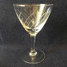 Bayel H 10,8 cm verre à vin blanc en cristal taillé translucide