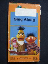 Sesame Street Sing Along [VHS]