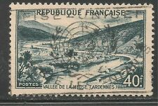 France #631 (A189) VF USED - 1949 40fr Meuse Valley, Ardennes