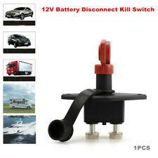 12V Car Boat RV ATV Truck On Off Battery Master Switch Disconnect Kill Power 1PC