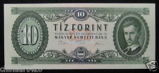 HUNGARY 10 Forint Banknote 1975 UNC