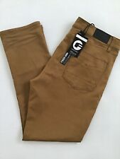 FRIED DENIM harvest Gold stretch Comfort Pants-40X32 NEW flex chinos jeans-$60