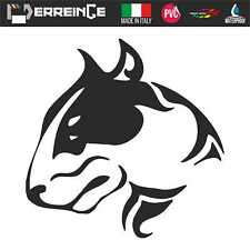 Sticker BULL TERRIER SX Autocollant Muraux Adhesif Décal Voiture Animaux Chien