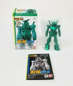 Bandai 7-11 Absolute Chogokin GM-015 RX-78-2 Gundam Green Metallic Figure New