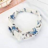 Swallow Pattern Ornaments Cross Hair Belt Cotton Hair with Headdress~