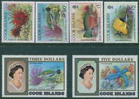 Cook Islands 1992 SG1269-1274 85c to $5 Marine Life MNH
