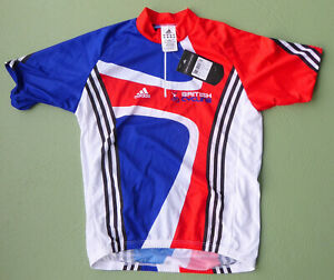 beautiful original BRITISH CYCLING ADIDAS cycling jersey TOUR DE FRANCE EROICA