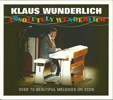 KLAUS WUNDERLICH ABSOLUTELY WUNDERLICH - 2 CD BOX SET - BEATLES MEDLEY & MORE