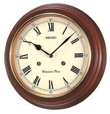 Seiko Westminster/Whittington Chime Wall Clock QXH202B RRP £85.00 Our Price £71.