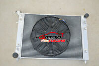 3 ROW Aluminum Radiator & FAN For Holden Commodore VN VG VP VR VS V6 3.8L AT/MT