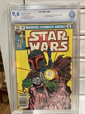STAR WARS #68  9.6 CBCS CGC RARE CANADIAN PRICE VARIANT WHITE PAGES MANDALORIAN