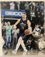 Luka Doncic autographed signed 8x10 photo with COA Dallas Mavericks NBA Star