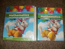 Scott Foresman MATH Mathematics 1 1st Grade NEW Teacher+Student Workbook LOT Set