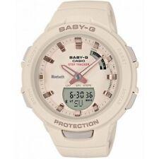 Casio Baby-G G-SQUAD Bluetooth Rose Gold Analogue/Digital Watch BSAB100-4A1 BSA-