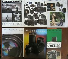 11 Hasselblad Product Catalog, Lenses, Guides, Manuals 1970/1990/2000