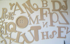 FANCY ALPHABET LETTERS. 26 Quality Letters 6mm thick