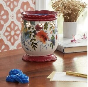 NEW! THE PIONEER WOMAN WILLOW SCENTED WAX WARMER ~ CERAMIC FALL NEW IN BOX