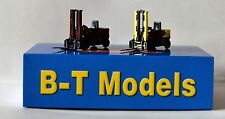 BT Models L15 Twin Pack Forklift Trucks British Railways 00 Gauge 1:76 Scale