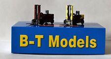 B-T Models L15 Twin Pack Forklift Trucks British Railways 00 Gauge 1:76 Scale