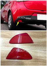 2* Rear Fog Light Lamp Reflector Cover for Mazda 2 Demio 2015 2016 5Dr Hatchback