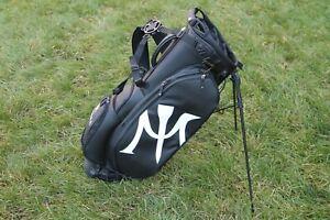 NEW Vessel Miura Black Stand 2.0 Golf Bag (6 Way, Carbon Fiber)