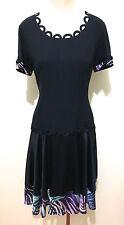 MOSCHINO CHEAP & CHIC Abito Vestito Donna Acetate Rayon Woman Dress Sz.M - 44