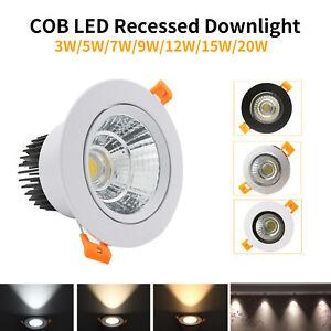 LED COB Ceiling Spot Down Light Energy Saving Bulb with LED Driver Transformer