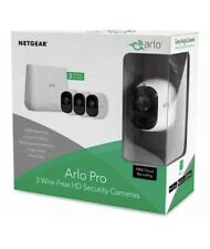 Netgear Arlo Pro VMS4330 Wireless Security System Kit + Smart Siren HD 3 Cameras