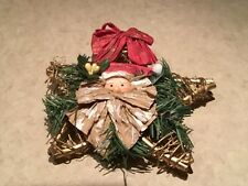 "Wildlife 6x5"" Farmhouse Rustic Moose Tree Topper Country"