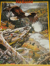 Jan Martin McGuire Wildlife EAGLE Theme Puzzle ~ Rocky Mountain High     New!