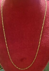Vintage Krementz Jewelry Gold Filled Chain Necklace