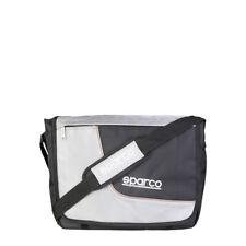 Sparco Men's Unisex MESSENGER Shoulder Laptop BAG Crossbody BLUE Black RRP £51