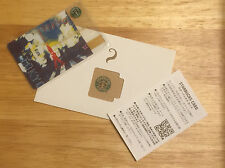 Japan Exclusive~Starbucks Tokyo City Gift Card~OLD CLASSIC LOGO~Ultra Rare