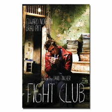 Fight Club Brad Pitt Classic Movie Art Silk Poster