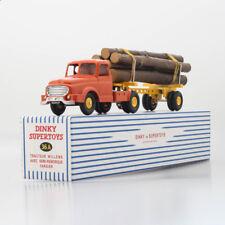 Atlas Dinky Toys Supertoys 36A Tracteur Willeme Remorque Fardier Avec Semi 1/43