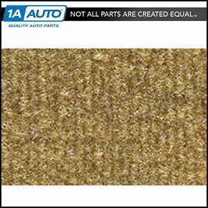 for 1984-86 Dodge 600 Convertible Cutpile 854-Caramel Complete Carpet Molded