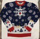 Miller Lite Ugly Christmas Sweater Medium New