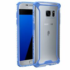 Affinity Premium Thin&Corner Protection Bumper Case for Galaxy S7 Blue