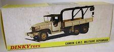 Repro Box Dinky Nr.808 GMC Militär Abschleppwagen